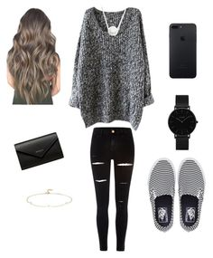 """""""Untitled #257"""" by lizakappil on Polyvore featuring River Island, Vans, Chan Luu, CLUSE, Balenciaga and Loren Stewart"""