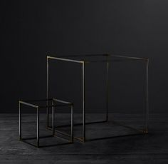 Iron Geometric Object Collection - Square