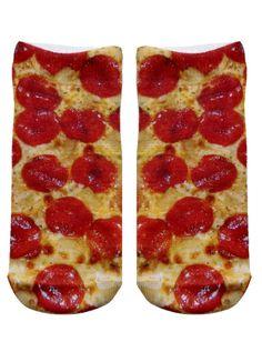 Pizza Ankle Socks #inkedshop #pizza #ankle #socks #yummy
