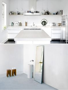 More interiors in white | THE STYLE FILES