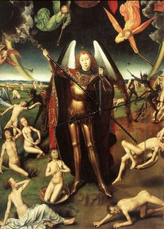 Hans Memling Last Judgment Triptych (detail) 1467-71
