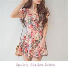Robe à fleur de la marque Eranzi sur le site japonais et coréen Yesstyle.com