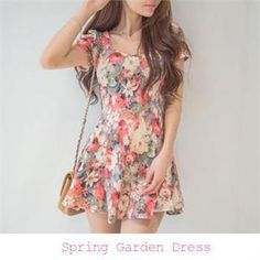 Buy 'ERANZI – Floral Print A-Line Dress' with Free International Shipping at YesStyle.com. Browse and shop for thousands of Asian fashion items from South Korea and more!
