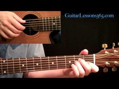 Kansas - Dust In The Wind Guitar Lesson Pt.1 - Intro & Verse - YouTube