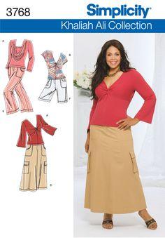 Womens Sportswear Sewing Pattern 3768 Simplicity