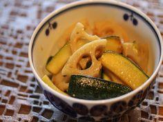 ズッキーニとレンコンのカレーマリネ by 山都すみれ [クックパッド] 簡単おいしいみんなのレシピが217万品