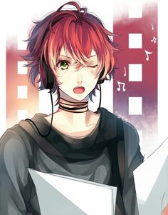 *I think this is Ayato as a teenager. Am I right?*