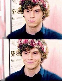 Evan is so gorgeous