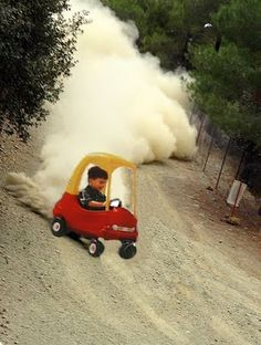 Drifting is a passion that begins early :)