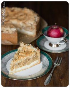 Apfelkuchen mit Streusel Apple Pie