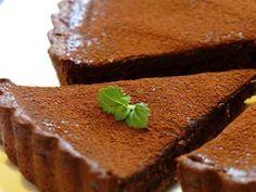 チョコ好きさんへ♡濃厚チョコレートタルト