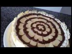 Como Fazer Arabescos de Chocolate - YouTube                                                                                                                                                                                 Mais
