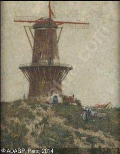 CASSIERS Henry (Henri) - Le moulin