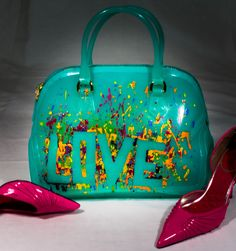 LOVE by UniqueBeautyBags on Etsy