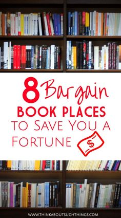 Finding cheap books is easy! Discover these 8 places to save you tons of money on your next book! Ways To Save Money, Money Saving Tips, Sell Books, Books To Read, Cheap Books, Fiction And Nonfiction, Frugal Tips, Book Lists, Free Books