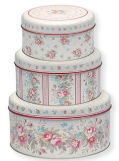 floral tins - Google Search