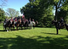 The Henry Ford   Greenfield Village   Dearborn, Michigan   Civil War Remembrance Days   Union Calvary   Detroit