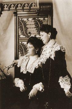 Елизавета Федоровна и Александра Федоровна 6