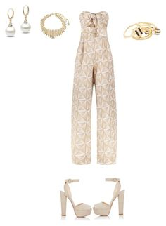 """Untitled #555"" by aayushi3912 on Polyvore featuring Johanna Ortiz, Prada, Amrita Singh and Noir Jewelry"