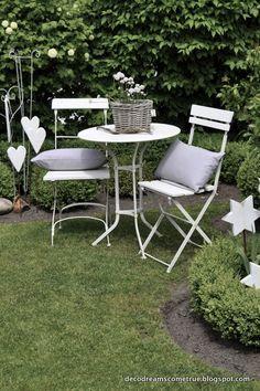 Décorer le jardin en style Shabby Chic! 20 idées pour vous inspirer...