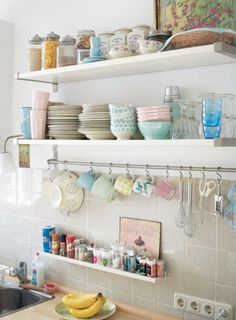 Open Kitchen Shelving and top tips on how to style it