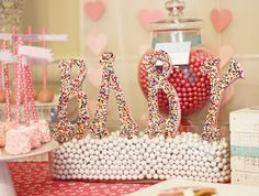 """Photo 16 of 21: Baby Shower/Sip & See """"Sprinkled With Love Baby Shower"""""""