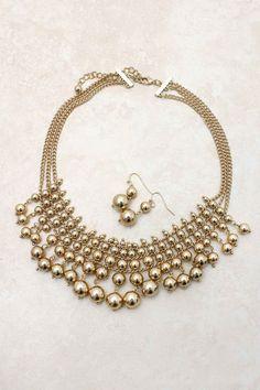 Bubbles Necklace Set | Emma Stine Jewelry Set