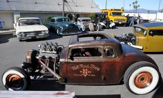rat rods | Just a Car Guy: Teds Rod Shop rat rod at the Grand National Roadster ...