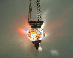 summer sale not $39.99 now only $29.99 moroccan lantern mosaic hanging lamp 88 #Handmade #Moroccan