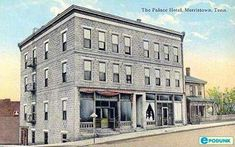 Morristown postcard post card - Hotel, Morristown, TN