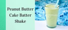 This Peanut Butter Cake Batter Shake is my favorite flavor - hands down. It's a THM:S, low carb, sugar free, and gluten/egg free.
