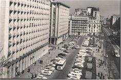 Bulevardul Magheru, blocurile ONT și EVA.(anii '60) Socialism, Timeline Photos, Time Travel, Romania, Past, Times Square, Multi Story Building, Memories, Profile Pictures