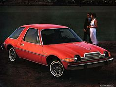 AMC Pacer trying to be all the cars all at once...