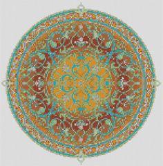 Arabian Nights Pdf Cross Stitch Chart Pattern by TheEndlessKnot