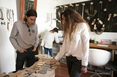Theadrianhe: Elena Estaun jewelry