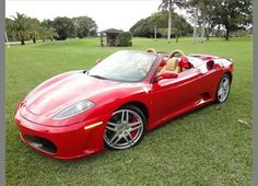 2005 Ferrari F430 Spider  As much as I'd love to speed away in this thing I wish it wasn't so low to the ground!
