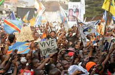 20161105 Police Use Armored Vehicles, Tear Gas & Soccer to Block #DRC Rally
