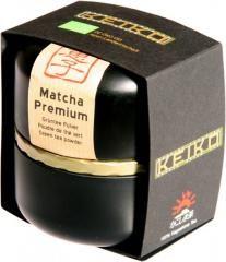 Arbata KEIKO Matcha Premium dekoratyvinėje dėžutėje, ekologiška (30 g)