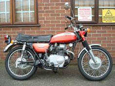 1971 Honda CL175 K4 similar to my first bike. 70's nostalgia :-)
