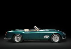 Ferrari 250 GT California Spider LWB (#1253GT), 1959 - ©Courtesy of RM Auctions - the whole story: www.radical-classics.com, #Ferrari, #250GT, #CaliforniaSpider, #radicalmag