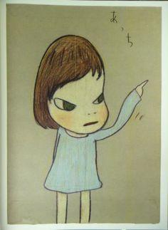 Yoshitomo Nara Drawing #64 Art Poster Print Cute Cartoon Child Kid Wall Decor
