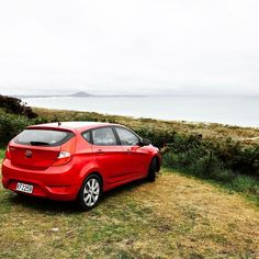 The car for the NZ travels!  little different from the pick-up truck we needed in Chile!  #car #redcar #hyundai #view #carwithaview #beautifulplaces #newzealand #roadtrip #training #travelling #worldwide #cars #explore #travel #beach #views #epicplaces #scenery #ecocar #explorers #travelbloggers #amazingplaces #wanderlust