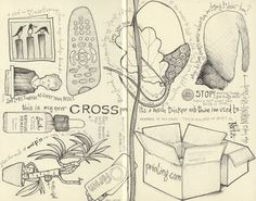 I <3 Andrea Joseph's drawing. A great example for the direction I want my HS art students' art journals to go.