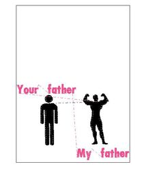 Your father-My father-machine embroidery pattern-instant download by tagi74 on Etsy