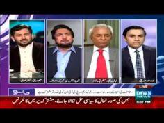 Intensive Fight between Saleem Safi & Shehryar Afridi in a Live Show