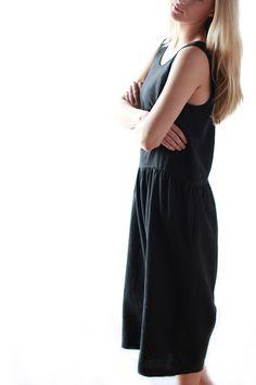Ilana Kohn for Mavenhaus Collective    Samet Jumpsuit in Black #slowfashion #mavenhauscollective