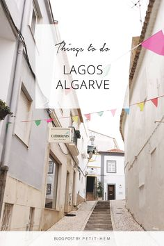 Planning a vacation in the Algarve? Make sure to visit the popular and historic town of Lagos. Here's a guide with things to do, things to visit, things to see and other fun travel tips that you need to know about Lagos, Algarve Fun Travel, Travel Tips, Stuff To Do, Things To Do, Enjoy Your Vacation, Portugal Travel, Algarve, Where To Go, Beautiful Beaches