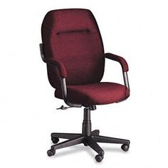 NEW - Commerce Series High-Back Swivel/Tilt Chair, Rhapsody Burgundy Fabric - 4736BKPB07 by Global Industries. $347.75. 21. S-shaped back cushion supports upper and lower back. Properly contoured cushions support the body effectively so you can sit longer. Armcaps provide comfort to forearms. Recommended Applications: General Office & Task; Seat/Back Color: Rhapsody Burgundy; Features & Functions: Pneumatic Seat Height Adjustment; Tilt Tension/Tilt Lock.