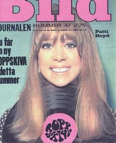 Magazine photos featuring Pattie Boyd on the cover. Pattie Boyd magazine cover photos, back issues and newstand editions. Sixties Fashion, Fashion Mag, Eric Clapton, George Harrison Pattie Boyd, Beach Hippie, Something In The Way, For You Blue, Hippie Culture, Wife And Girlfriend