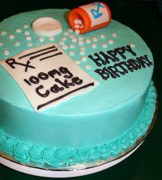 Cake for Technician or Pharmacist - Good idea
